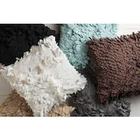 Mac Petal Texture  22-inch Poly Fill Accent Pillow