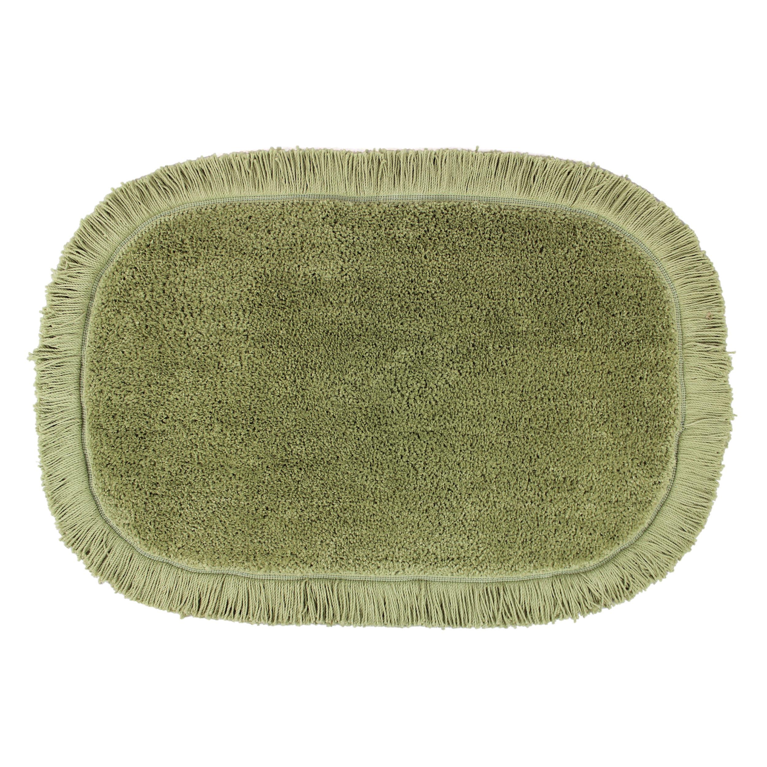 Sherry Kline Sage Green Fringed 20 X 30