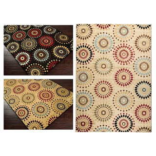 Orchid Fields Area Rug (5'3 x 7'3)