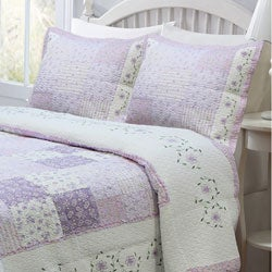 Love of Lilac Quilt and Sham Set