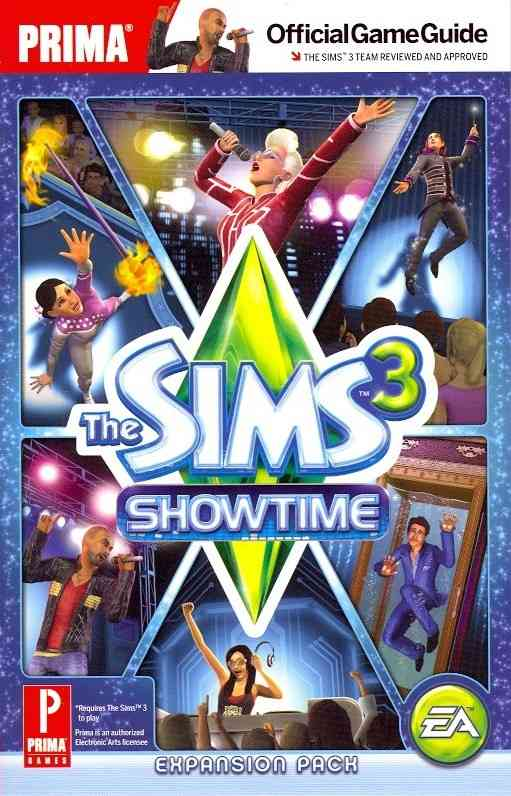 Sims 3 Showtime: Prima Official Game Guide, Expansion Pack (Paperback)