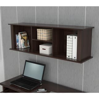 Inval Espresso Wall Mounted Hutch|https://ak1.ostkcdn.com/images/products/6423438/P14029002.jpg?impolicy=medium
