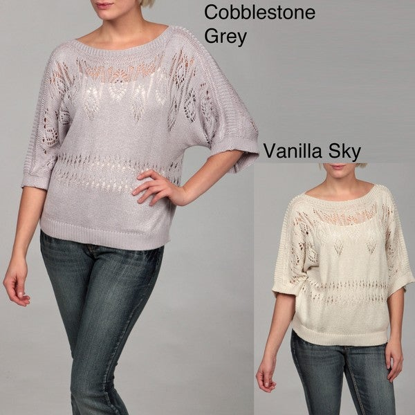 Workshop Andrea Jovine Crochet Dolman Sleeve Top
