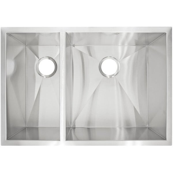 LessCare LP3 Designer Undermount Stainless Steel Sink