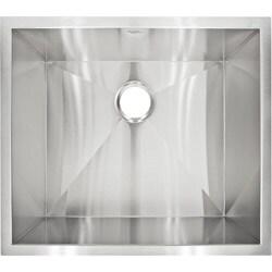 LessCare LP1 Designer Undermount Stainless Steel Sink