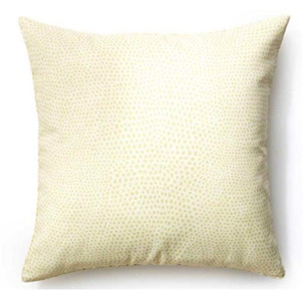 Handmade Cream Cheetah Pattern Pillow