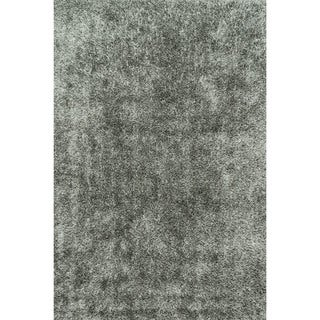 Caldera Hand-tufted Steel Shag Rug (3'6 x 5'6)