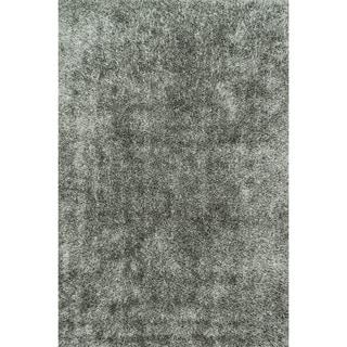 Nourison Hand Tufted Contours Striped Grey Rug 7 3 X 9 3