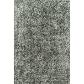 Caldera Hand-tufted Steel Area Rug (7'9 x 9'9)