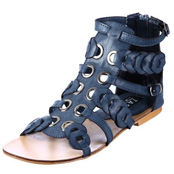 Tash Limited Women S Jane Blue Gladiator Sandals Free