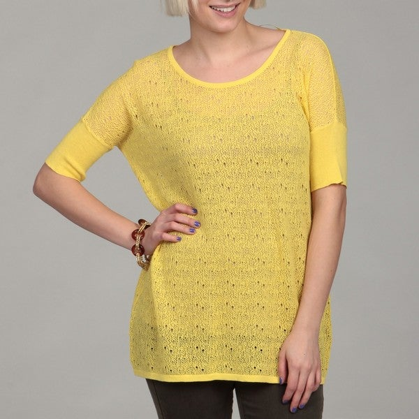 Cable & Gauge Women's Novelty Stitch Top