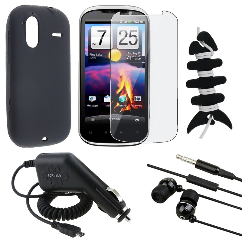 Case Protector/ Headset/ Wrap/ Car Charger for HTC Amaze 4G