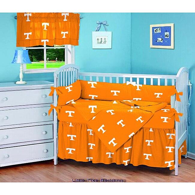 Tennessee Vols 5 Piece Crib Bedding Set Free Shipping