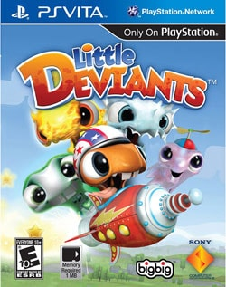 Ps Vita - Little Deviants