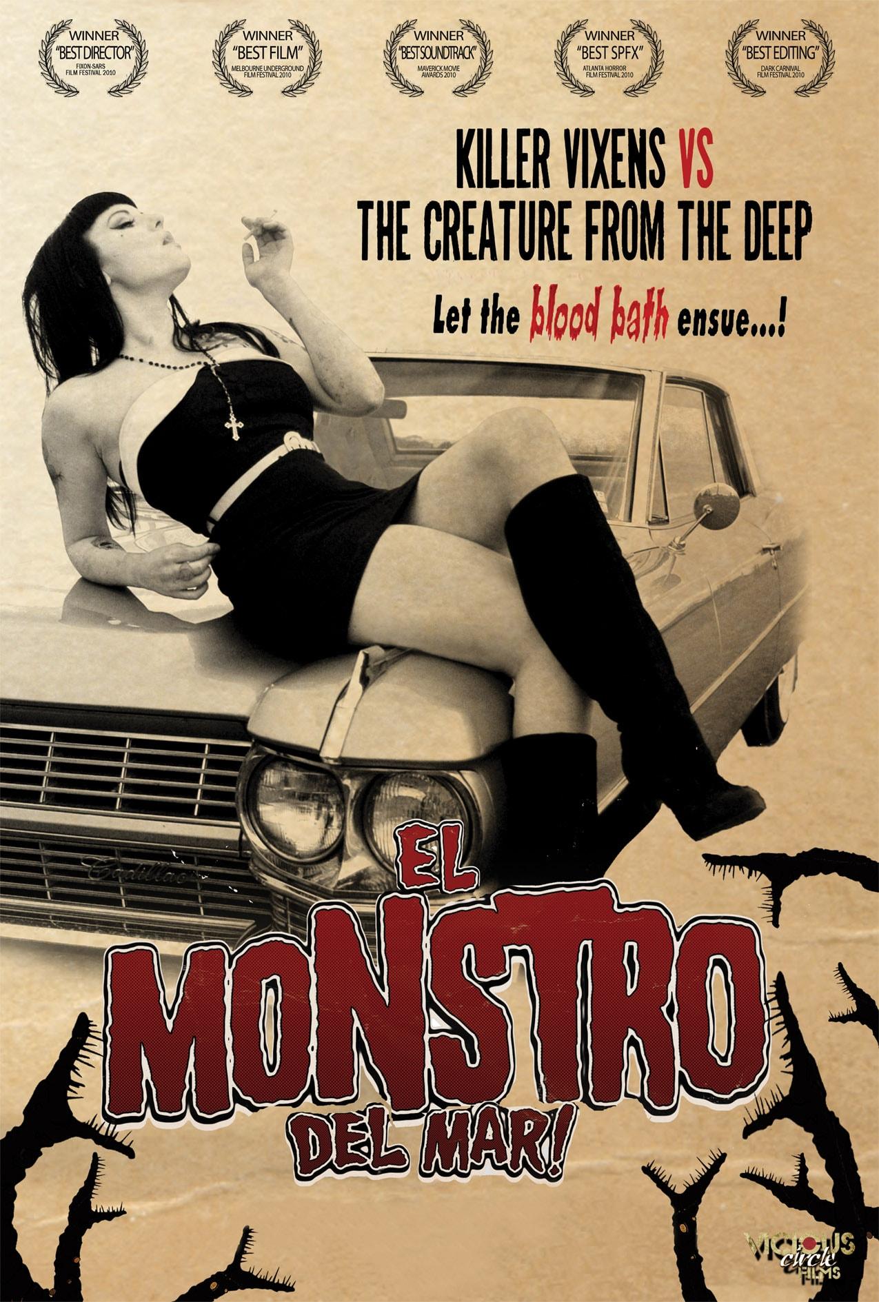 El Monstro Del Mar! (DVD)