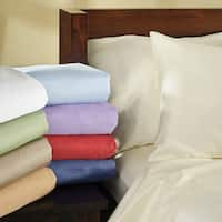 Fresno Cotton Sateen 400 Thread Count Full Sheet Set