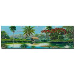 Douglas 'Paisage Tropical' Canvas Art