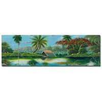 Douglas 'Paisage Tropical' Canvas Art