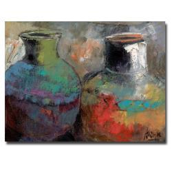 Boyer 'Still Life with Jugs' Canvas Art