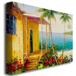 Rio 'Key West Villa' Canvas Art - Thumbnail 1