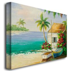 Rio 'Key West Breeze' Canvas Art - Thumbnail 1