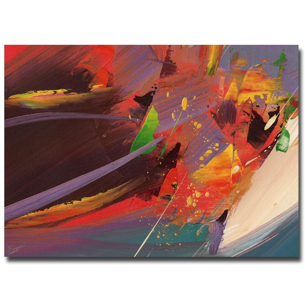 Ricardo Tapia 'Splash' Canvas Art