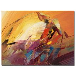 Ricardo Tapia 'A New Day' Canvas Art