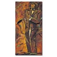 Joarez 'Jazz II' Canvas Art