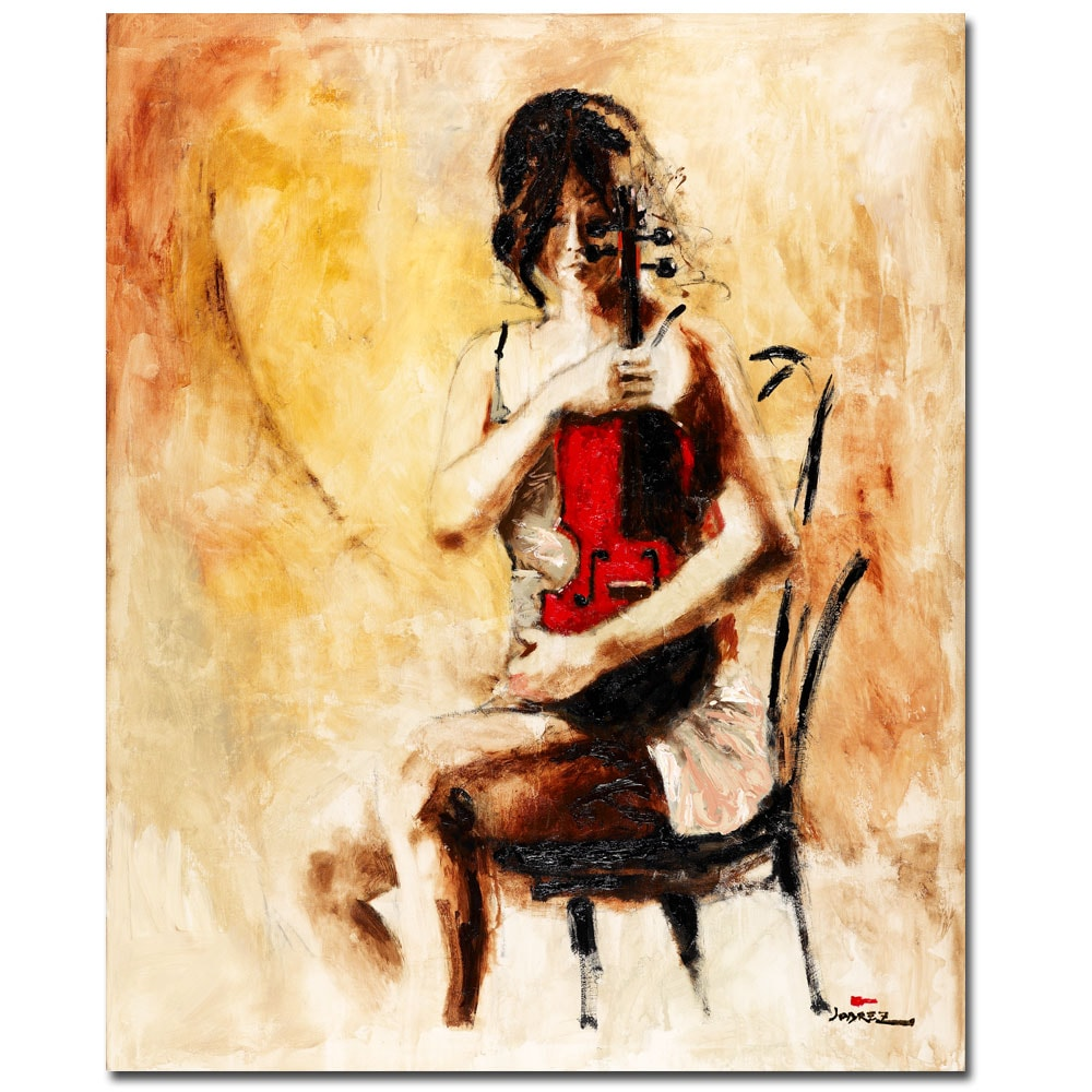 Joarez 'Divine Melody' Canvas Art