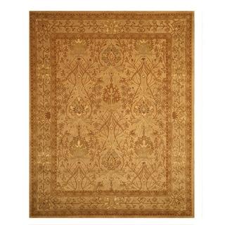 Hand-tufted Wool Beige Traditional Oriental Morris Rug (9'6 x 13'6)