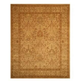 Hand-tufted Wool Beige Traditional Oriental Morris Rug (8'9 x 11'9)