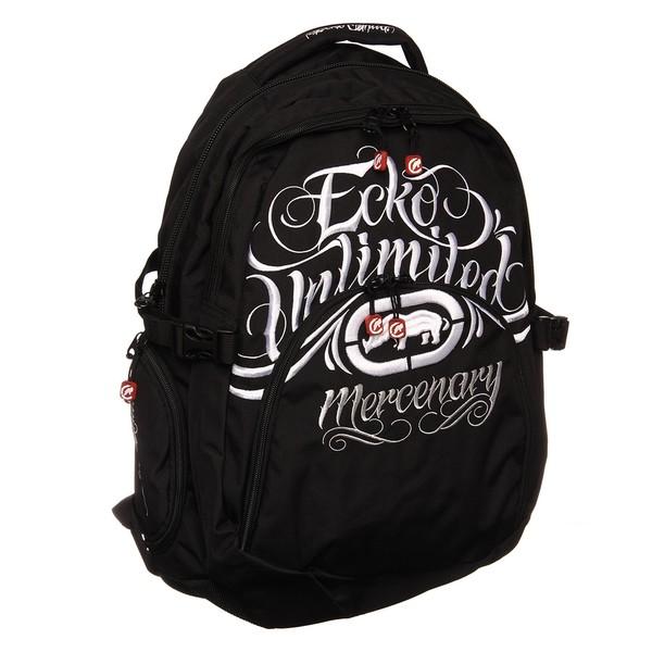 Shop Ecko Unlimited Mercenary Black Backpack - Free Shipping