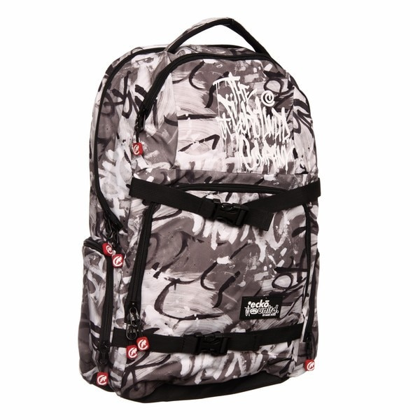Shop Ecko Unlimited Graffiti Print Famous Backpack - Free Shipping