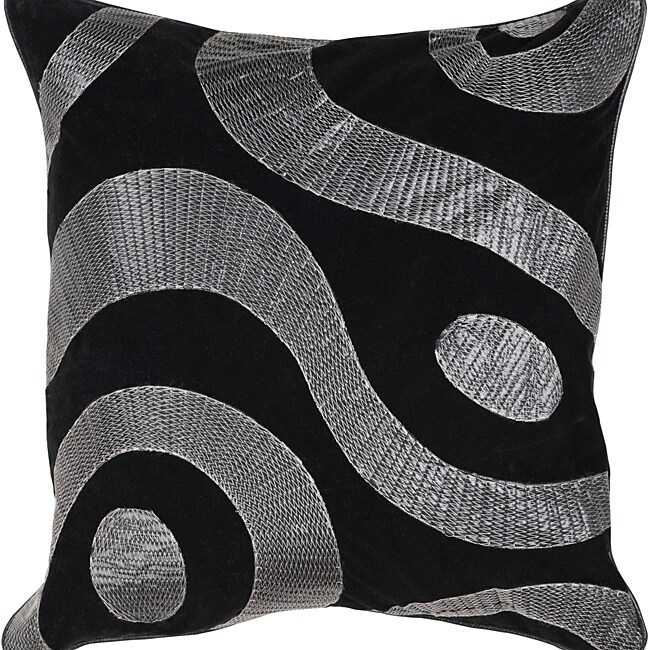 Dire 22-inch Square Down Decorative Pillow