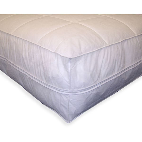 Performance Textiles Bed Bug & Dust Mite Control Polypropylene All-In-One Mattress Pad & Protector