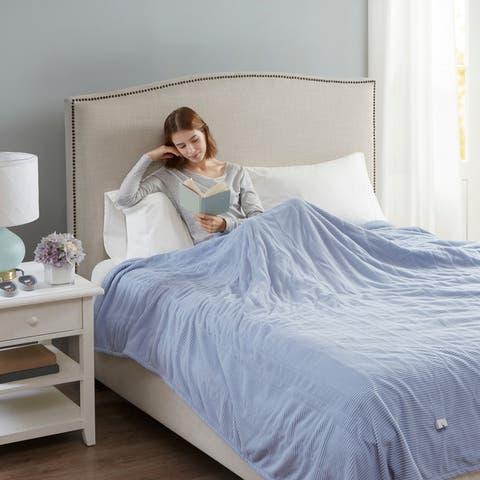 Beautyrest Electric Micro Fleece Twin-size Heated Blanket