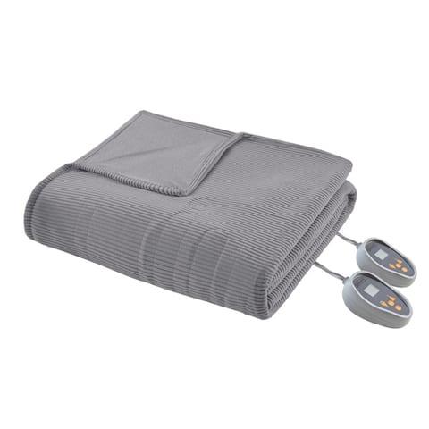 Beautyrest Ribbed Microfleece King-size Heated Blanket