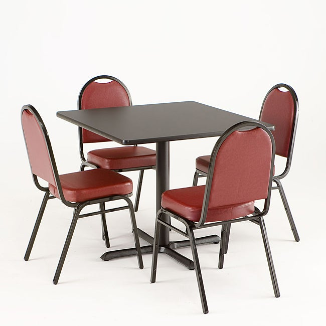 5-piece Reversible Commercial Dining Set - Thumbnail 0