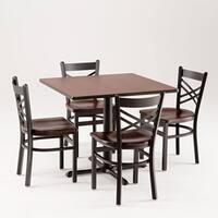 Cambridge 901 5-piece Black Cherry Dining Set