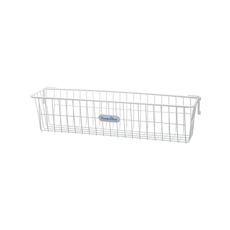 Organized Living freedomRail White Work Basket - Thumbnail 0