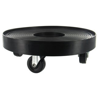 Black Plastic 24-inch Plant Dolly