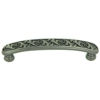 Stone Mill Hardware Oakley Weathered Nickel Cabinet Pull (Pack of 5)