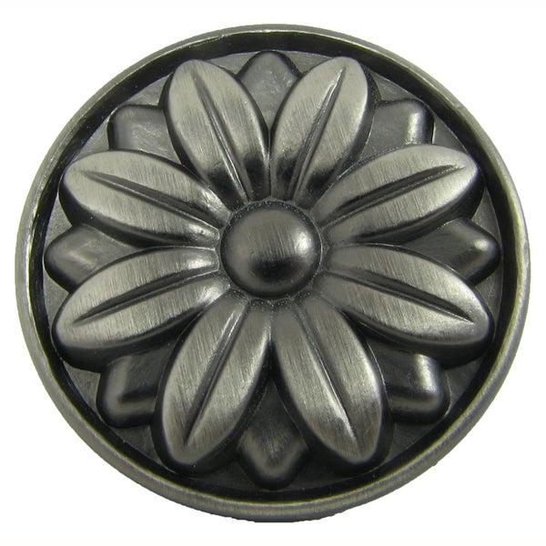Stone Mill Hardware Mayflower Weathered Nickel Cabinet Knobs (Pack of 5)