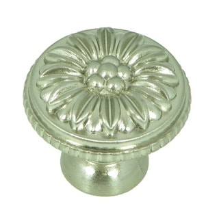 Stone Mill Hardware Dahlia Satin Nickel Cabinet Knobs (Pack of 5)