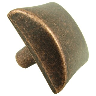 Stone Mill Hardware Bella Antique Copper Cabinet Knobs (Pack of 10)