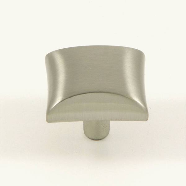 Stone Mill Hardware Bella Satin Nickel Cabinet Knobs (Pack of 10)