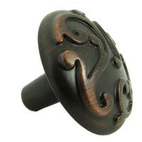 Stone Mill Hardware 'Ivy' Oil Rubbed Bronze Cabinet Knobs (Pack of 5)