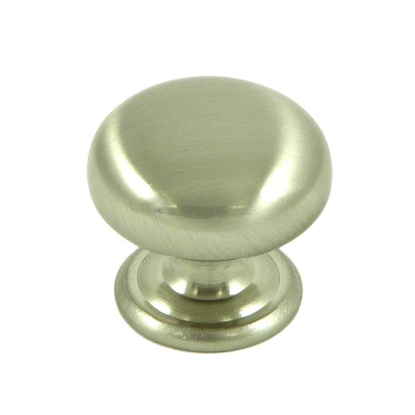 Stone Mill Hardware 'Caroline' Satin Nickel Cabinet Knobs (Pack of 5)