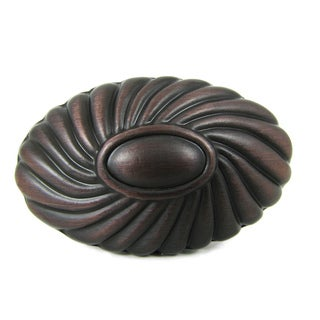 Stone Mill Hardware 'Sienna' Oil Rubbed Bronze Cabinet Knobs (Pack of 10)