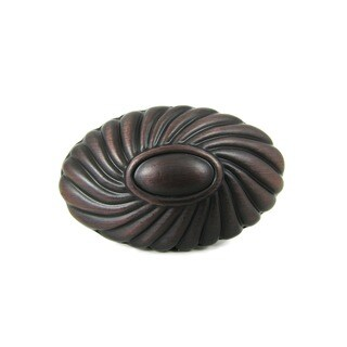 Stone Mill Hardware 'Sienna' Oil Rubbed Bronze Cabinet Knob (Pack of 5)